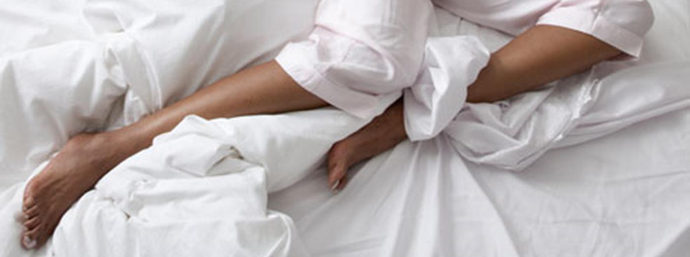 Woman's restless legs