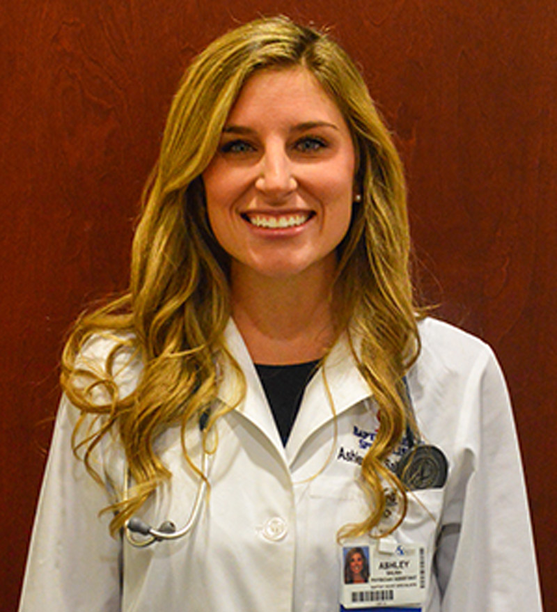 Ashley S. - Physician Assistant