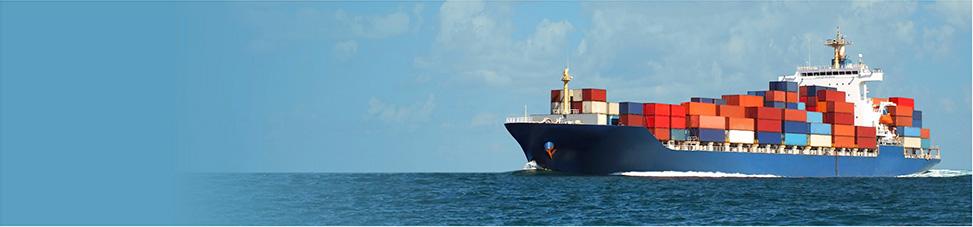 Cargo Ship Sailing on the Ocean