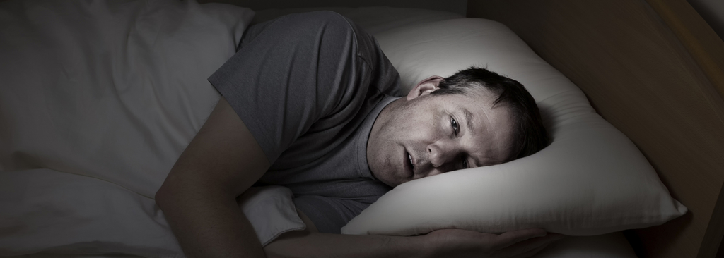 Man wakes up from snoring
