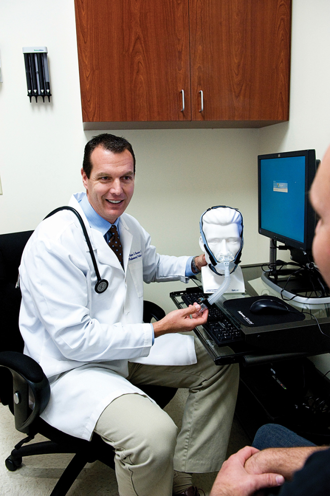 Dr. Nassar Speaks With A Patient