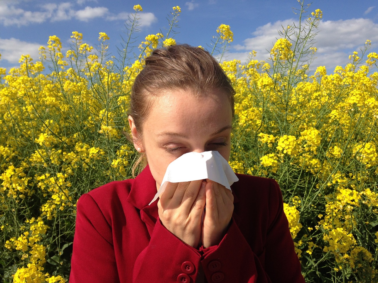 losing sleep over allergies